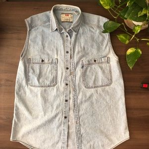 Levi's Vintage 90's Sleeveless Jeans Jacket